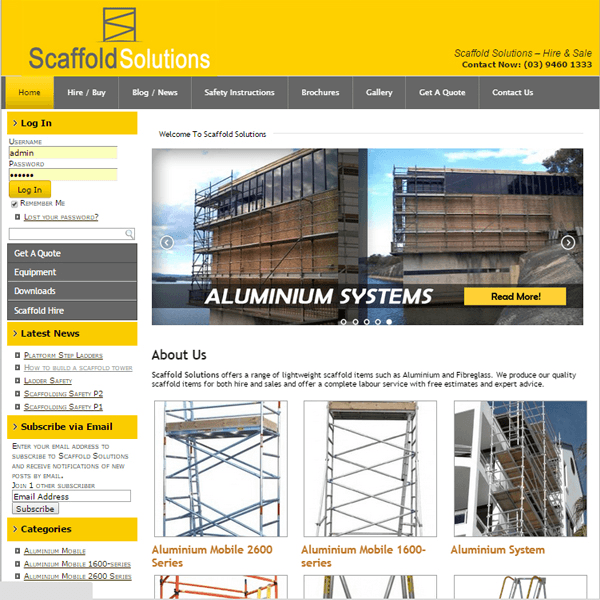 Scaffold Solution Melbourne